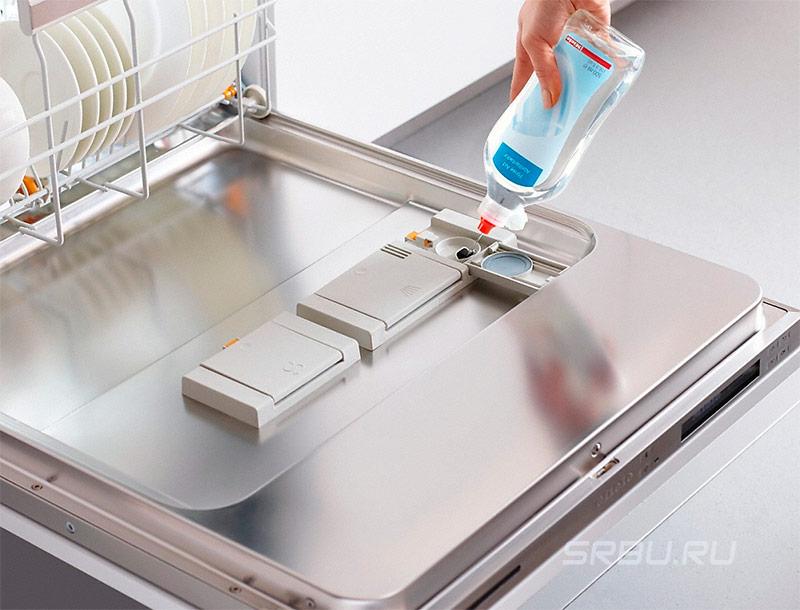 Жидкий ополаскиватель для посудомоечной машины